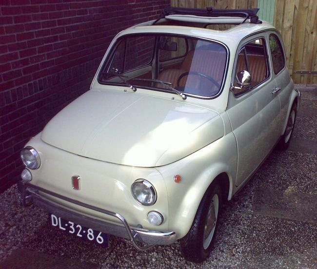 1970 Fiat 500 Luxe For Sale: Prachtige Beige Fiat 500 Luxe - Classic Cars