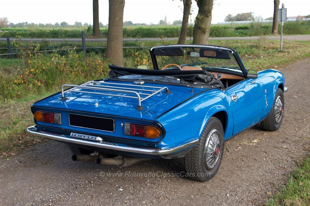 triumph spitfire 1500 mk4 classic cars rouwette classic cars. Black Bedroom Furniture Sets. Home Design Ideas
