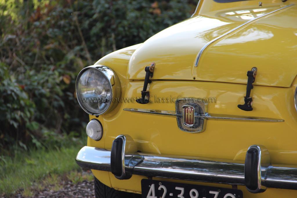 Fiat 600 Abarth Fiat 850tc Classic Cars Rouwette