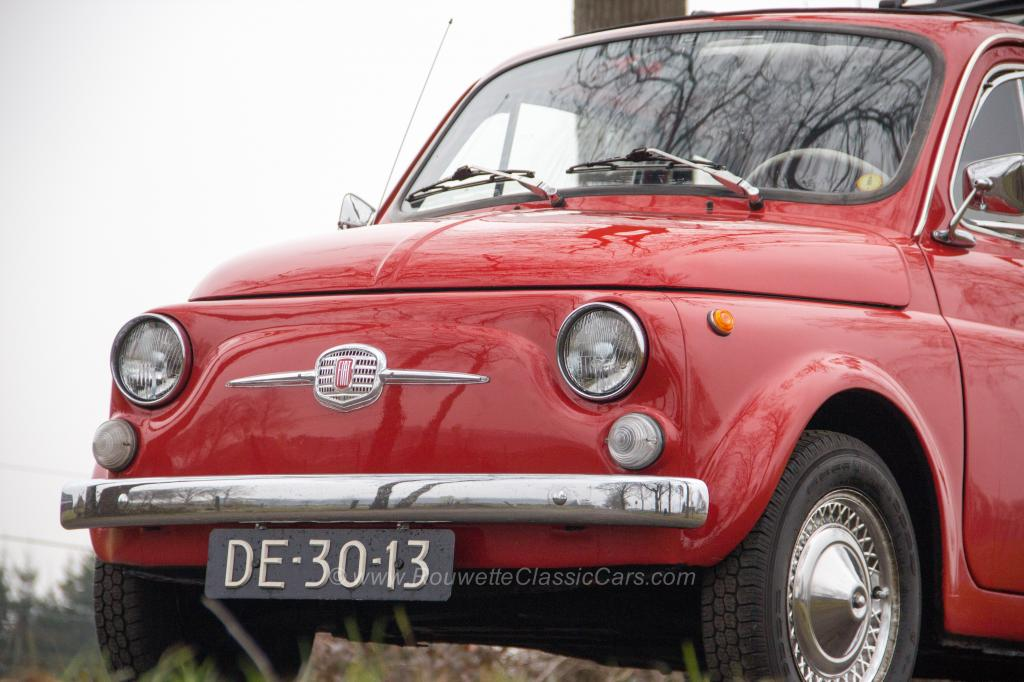 For sale: Fiat 500 F - Classic Cars | Rouwette Classic Cars