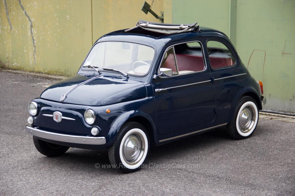 For sale: Fiat 500 D, 1961 - Clic Cars | Rouwette Clic Cars