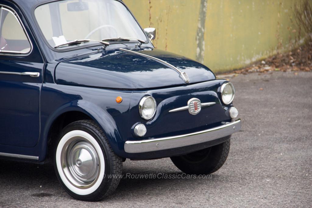 For sale: Fiat 500 D, 1961 - Classic Cars | Rouwette Classic Cars